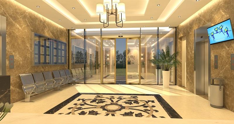 Thiết kế sảnh chung cư C'land- Hà Nội