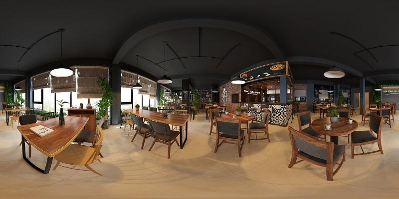 Thiết kế quán cafe Đa Sỹ – Hà Nội